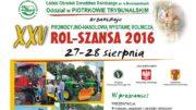 plakat Rol-Szansa 2016 wycięte