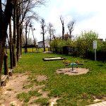 Miejsce na plac zabaw przy SP w Krzyżanowie