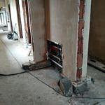 Wewnętrzne tynki i prace instalacyjne