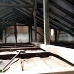 Remont Domu Ludowego w Woli Krzysztoporskiej - widok poddasza