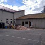 Remont DL Wola Krzysztoporska - dobudowana część z więźbą dachową
