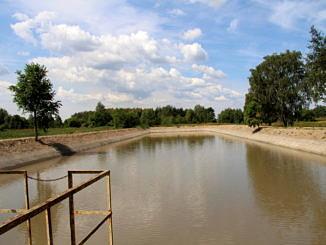 Inwestycje 2019 - Kanalizacja etap IV zbiornik retencyjny w Woli Krzysztoporskiej