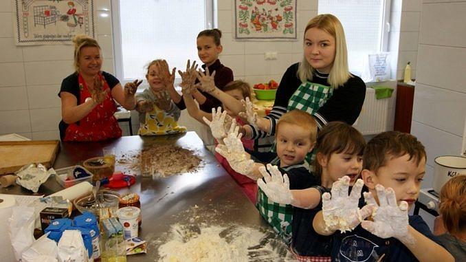 Warsztaty kulinarne z dziećmi KGW Mąkolice