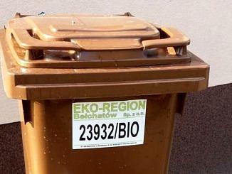 Pojemnikk na bioodpady