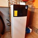 Nowoczesna pompa ciepła zastąpiła stary piec węglowy