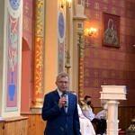 Dożynki Parafialne w Milejowie - burmistrz Sulejowa Wojciech Sulejowa