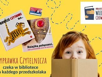 wyprawka czytelnicza dla dzieci - dziecko z książkami