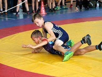 Mistrzostwa Polski Szkół Podstawowych U15 w zapasach w stylu klasycznym - walki