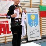 Mistrzostwa Polski Szkół Podstawowych U15 w zapasach w stylu klasycznym - zawodnik na podium