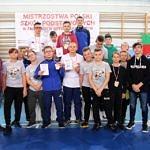 Mistrzostwa Polski Szkół Podstawowych U15 w zapasach w stylu klasycznym - grupa zawodników