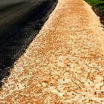 Droga Rokszyce - Oprzężów - nowy asfalt, utwardzone pobocze