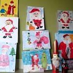 Rysunki z Mikołajem