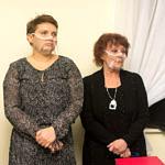 Spotkanie promocyjne w Woźnikach - autorki Joanna Sobutkowska i Danuta Stępień