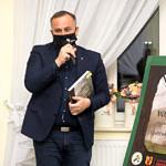 Spotkanie promocyjne w Woźnikach - starosta Piotr Wojtysiak