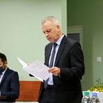 Skarbnik gminy Wiesław Jagiełło przedstawia finansowe aspekty budżetu 2021