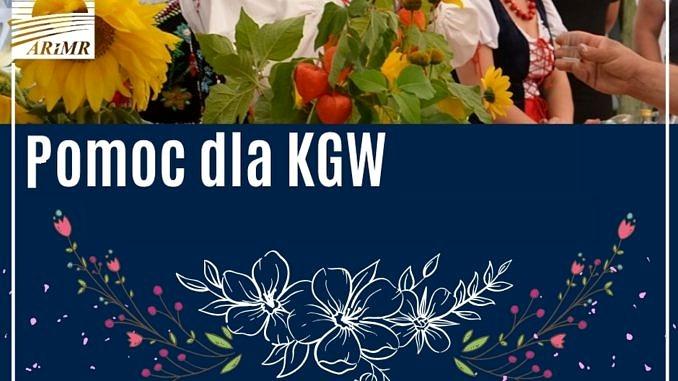 ARIMR - plakat; pomoc dla KGW