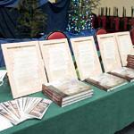 Spotkanie promocyjne w Woźnikach - egzemplarze książki