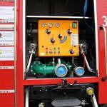 Wyposażenie samochodu strażackiego