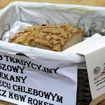 Chleb konkursowy w koszyku