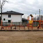 Piekary - plac zabaw i siłownia