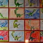 Rysunki dinozaurów