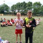 Dzieci z medalami