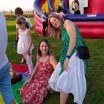 Piknik przy DL w Glinie - kolorowe zjeżdżalnie dla dzieci