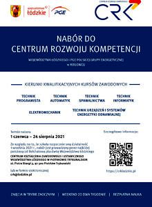 Nabór do centrum Rozwoju Kompetencji