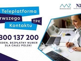 Teleplatforma Pierwszego Kontaktu - plakat numer 800-137-200