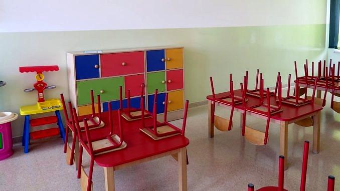 Odmalowana sala przedszkolna