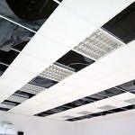 Sufit podwieszany - remont sali