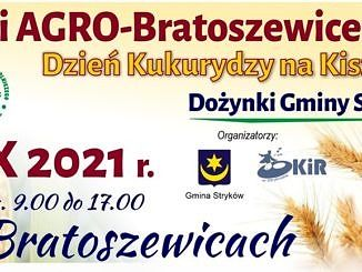 Targi AGRO Bratoszewice plakat