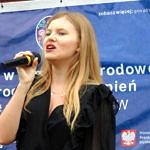 Występ wokalistki