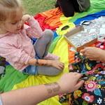 Dzieci podczas zabaw i animacji