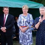 wójt, przewodnicząca RG i sołtys Maria Głowacka