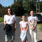 Mama z dwiema córkami