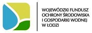 Logo Wojewódzkiego Funduszu Ochrony Środowiska i Gospodarki Wodnej w Łodzi - trójkolorowy kwadrat - zółty, niebieski, zielony