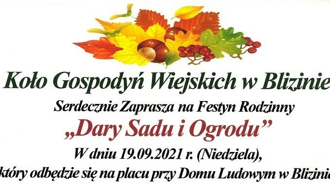 Plakat z jesiennymi akcesoriami 0 zółte liście, kasztany; informacje jak w treści
