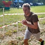 Chłopak podczas biegu