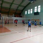 Sołtysi grają w siatkówkę