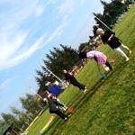 Dzieci podczas zabaw integracyjnych