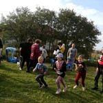 Dzieci podczas wyścigu