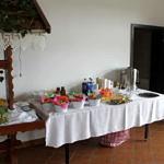 smakołyki na stole przygotowane przez KGW