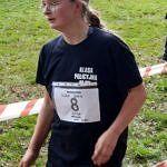 Dziewczyna podczas biegu