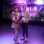 Autorka książki z kwiatami z Martą Kopacką z GKRPA